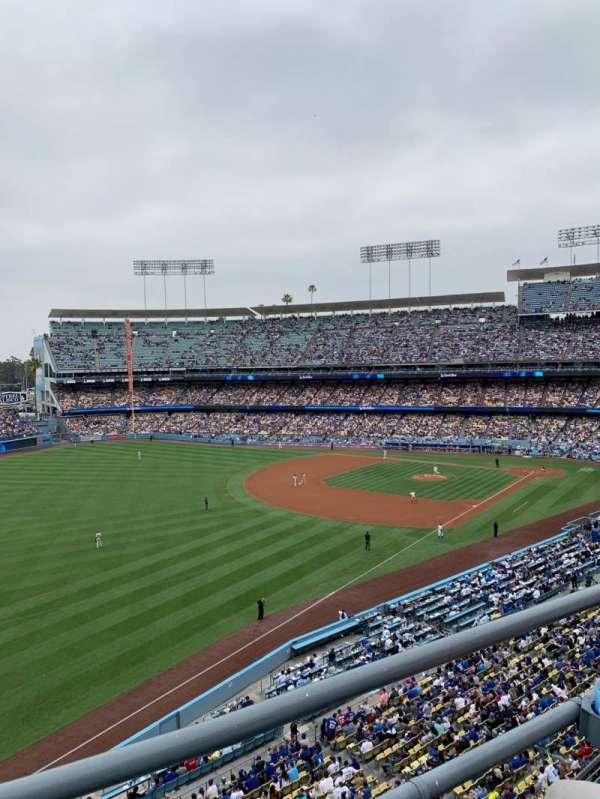 Dodger Stadium, Abschnitt: 43RS, Reihe: B, Platz: 16