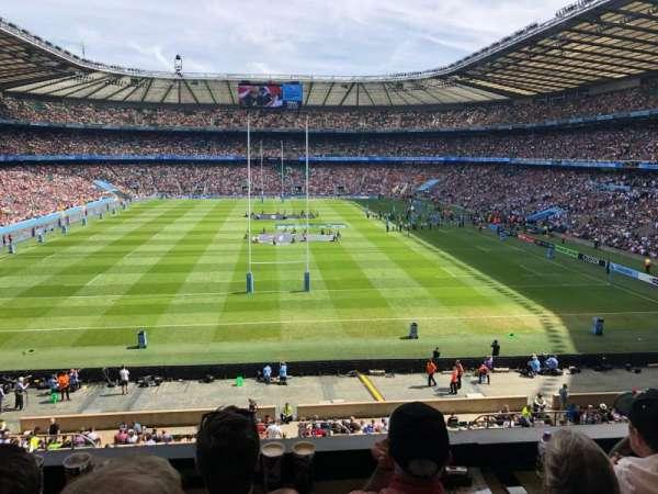 Twickenham Stadium, Abschnitt: M20, Reihe: 53, Platz: 133