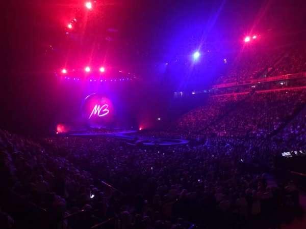 Manchester Arena, Abschnitt: 106, Reihe: K, Platz: 1