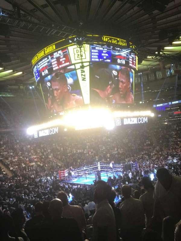 Madison Square Garden, Abschnitt: 115, Reihe: 13, Platz: 12