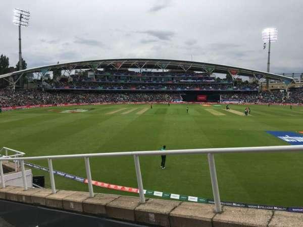 Kia Oval, Bereich: Bedser Stand Upper, Reihe: H, Platz: 9
