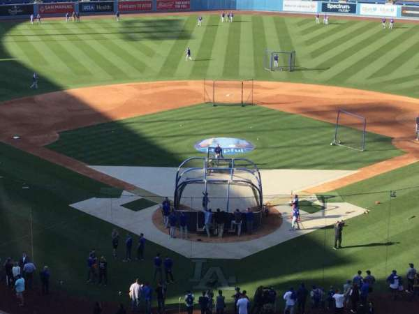 Dodger Stadium, Abschnitt: 1RS, Reihe: E, Platz: 7
