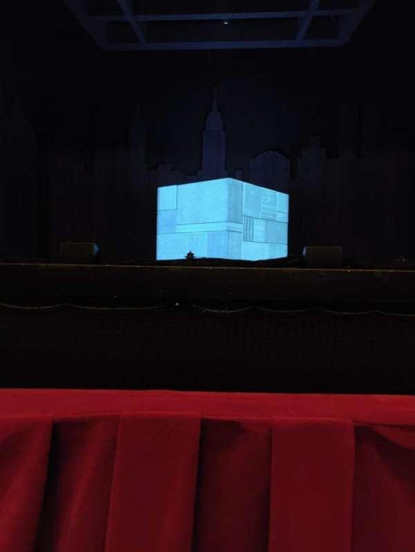 Nederlander Theatre (Chicago), Abschnitt: Orchestra, Reihe: A, Platz: 109
