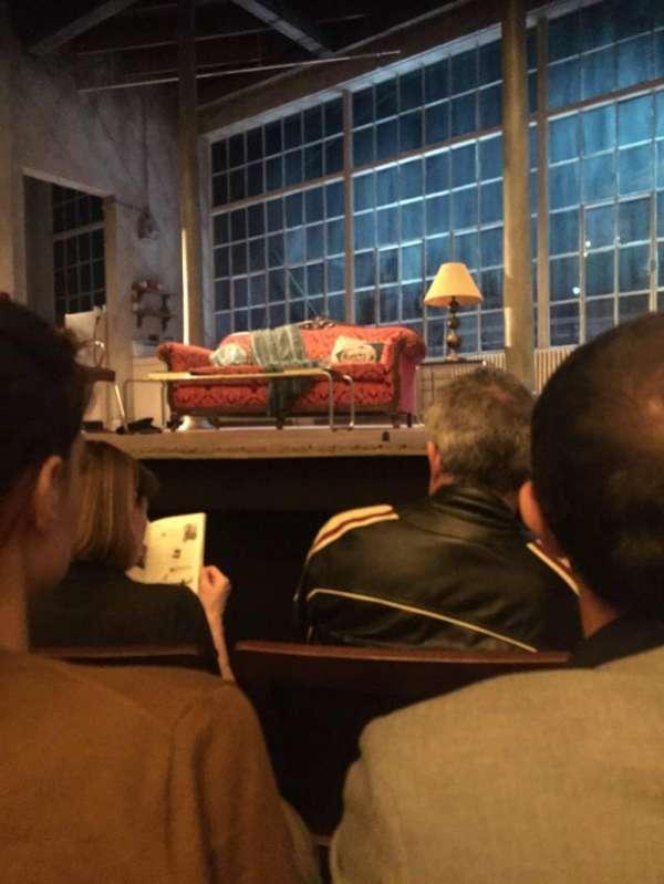 Hudson Theatre, Abschnitt: Orchestra, Reihe: D, Platz: 111