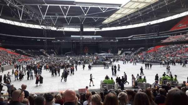 Wembley Stadium, Abschnitt: 113, Reihe: 19, Platz: 52