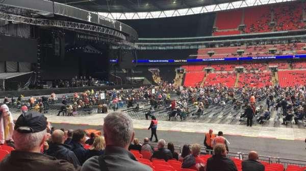 Wembley Stadium, Abschnitt: B, Reihe: 16, Platz: Ee