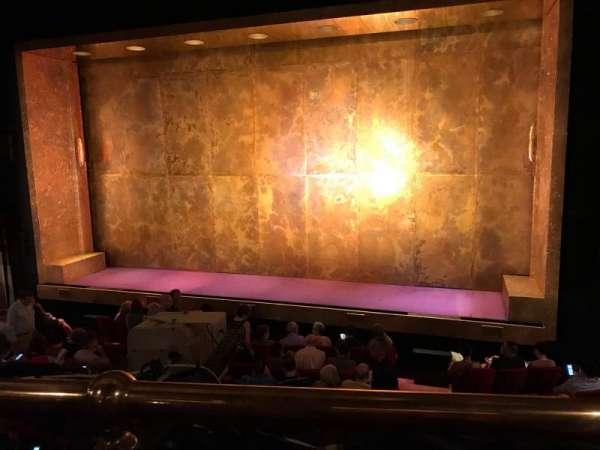 Cort Theatre, Abschnitt: Mezzanine R, Reihe: A, Platz: 2