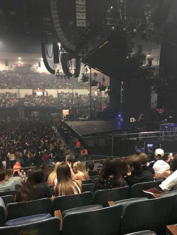Pechanga Arena, Abschnitt: L11, Reihe: 7, Platz: 10