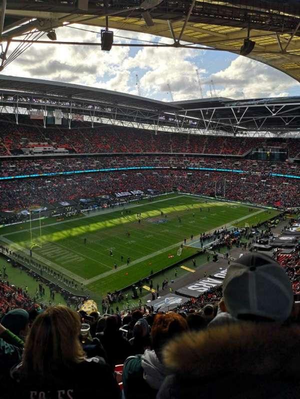 Wembley Stadium, Abschnitt: 507, Reihe: 19, Platz: 211