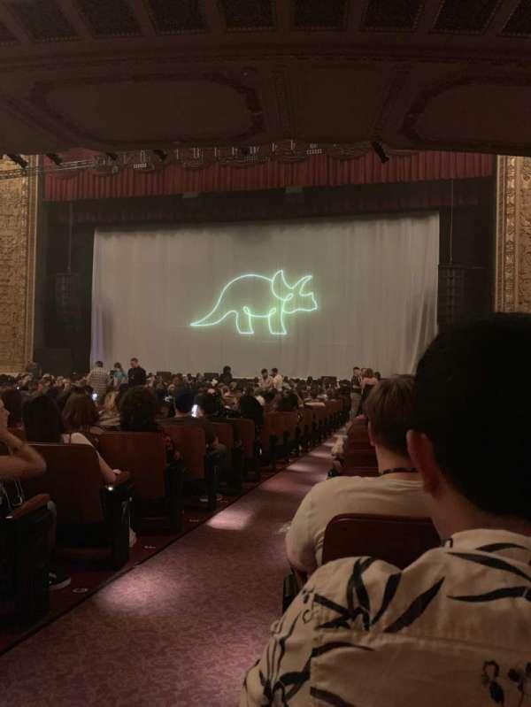 Chicago Theatre, Abschnitt: MNFL3R, Reihe: K, Platz: 302