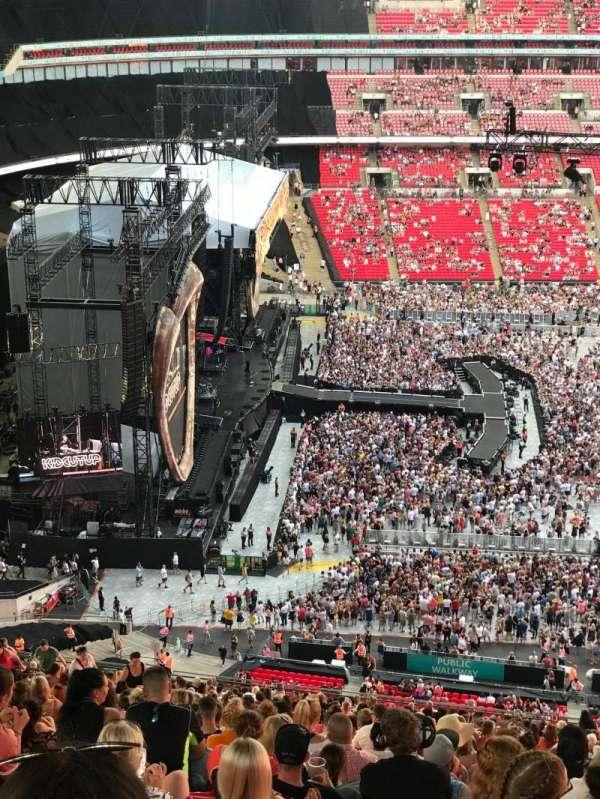 Wembley Stadium, Bereich: 529, Reihe: 41, Platz: 83