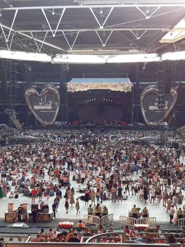 Wembley Stadium, Bereich: 111, Reihe: 40, Platz: 254