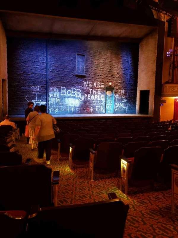 Bernard B. Jacobs Theatre, Abschnitt: orchestra l, Reihe: m, Platz: 5