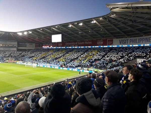 Cardiff City Stadium, Abschnitt: Ninian stand, Reihe: X, Platz: 849