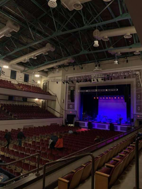 Plymouth Memorial Hall, Abschnitt: Mezzanine Right 3, Reihe: C, Platz: 37
