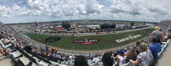 Daytona International Speedway, Abschnitt: 345, Reihe: 20, Platz: 11-12