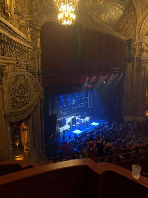 Chicago Theatre, Abschnitt: Box 3, Reihe: A, Platz: 25