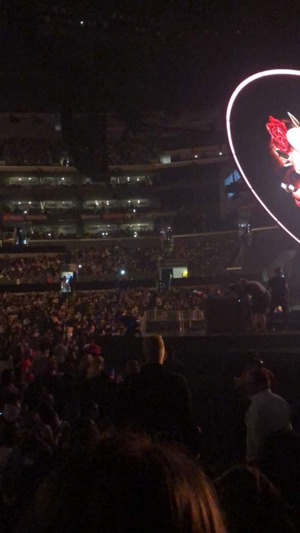 Staples Center, Abschnitt: 118, Reihe: 5, Platz: 3