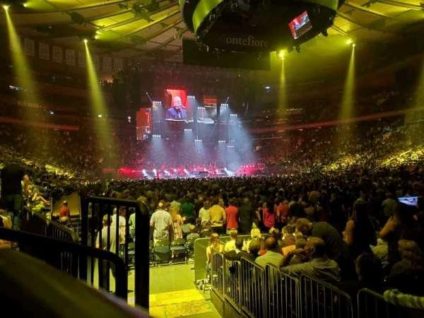 Madison Square Garden, Abschnitt: 120, Reihe: 3, Platz: 3