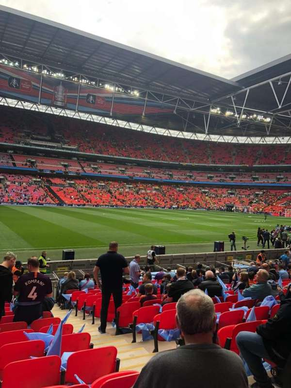 Wembley Stadium, Abschnitt: 103, Reihe: 16