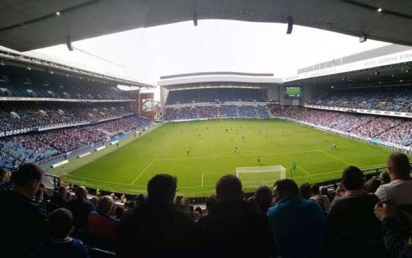 Ibrox Stadium, Abschnitt: Copeland, Reihe: J, Platz: 99