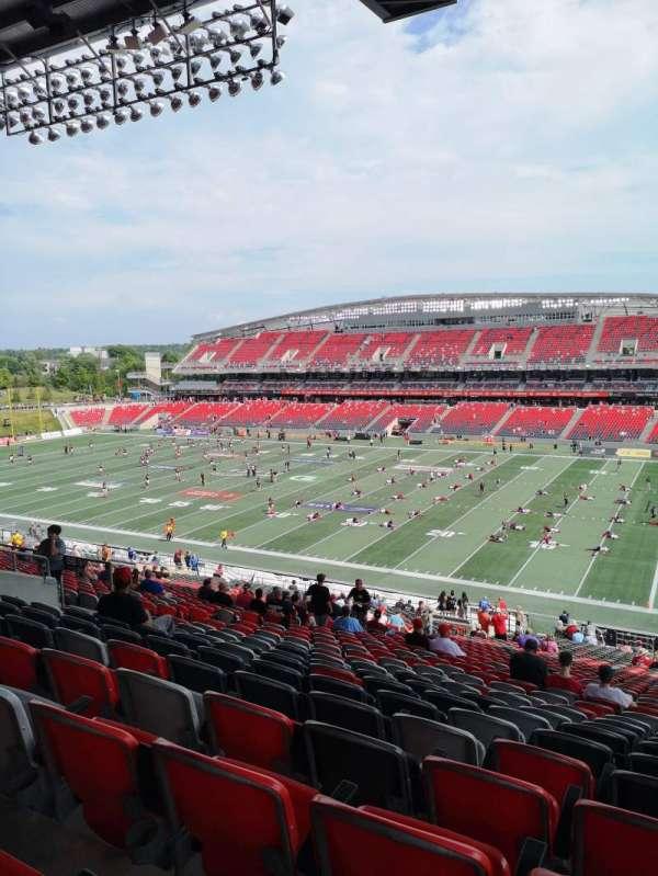 TD Place Stadium, Bereich: BB, Reihe: 9, Platz: 22