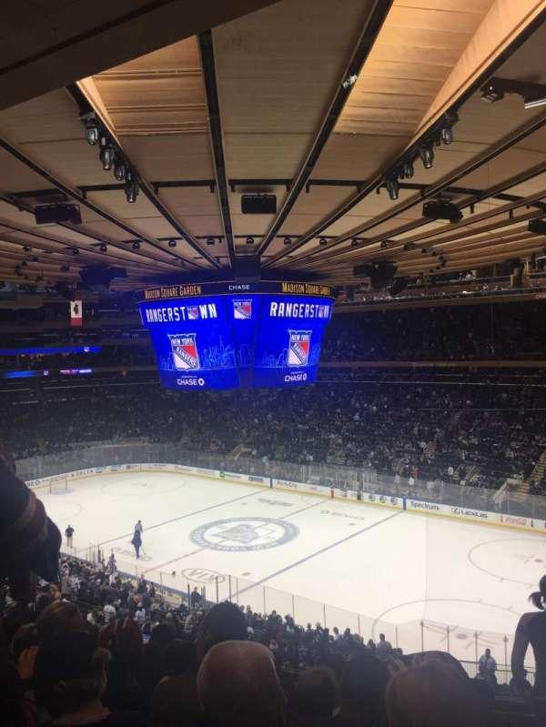Madison Square Garden, Abschnitt: 214, Reihe: 7, Platz: 9