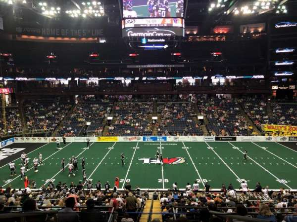 Nationwide Arena, Abschnitt: C3, Reihe: D, Platz: 20