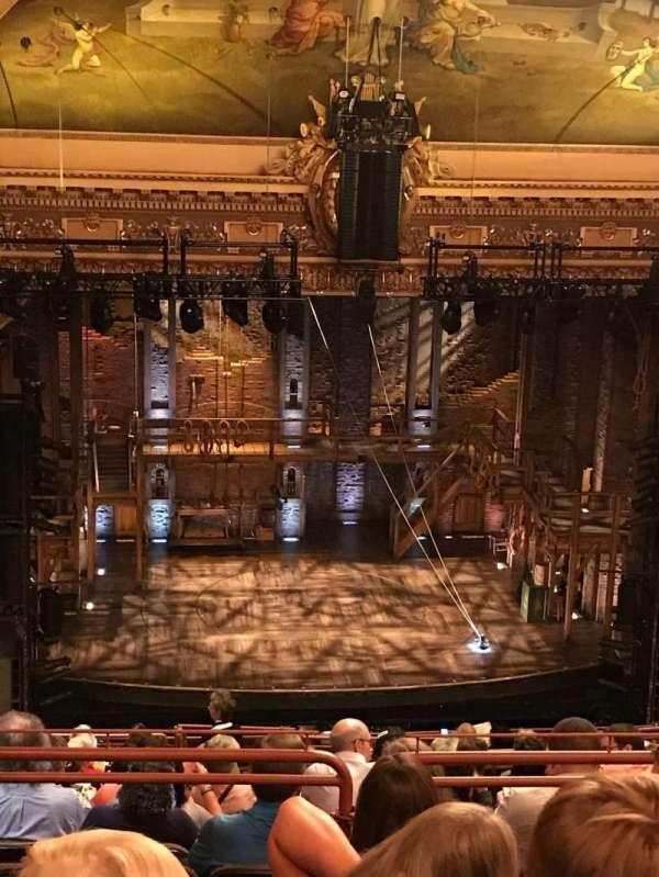 Hippodrome Theatre, Abschnitt: Center Upper Balcony, Reihe: Q, Platz: 301