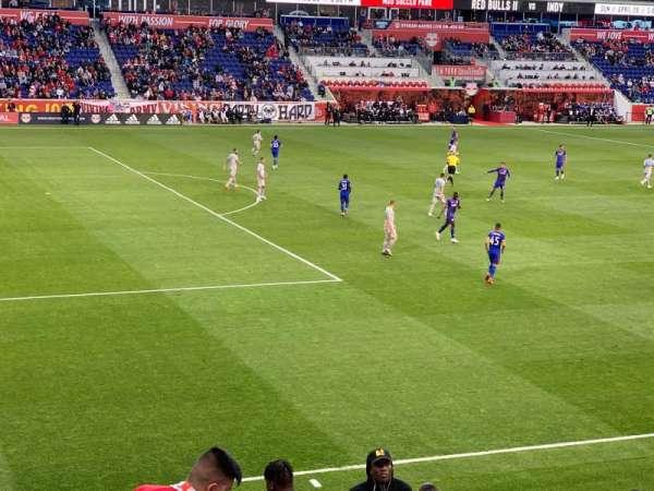 Red Bull Arena, Abschnitt: 129, Reihe: 14, Platz: 9