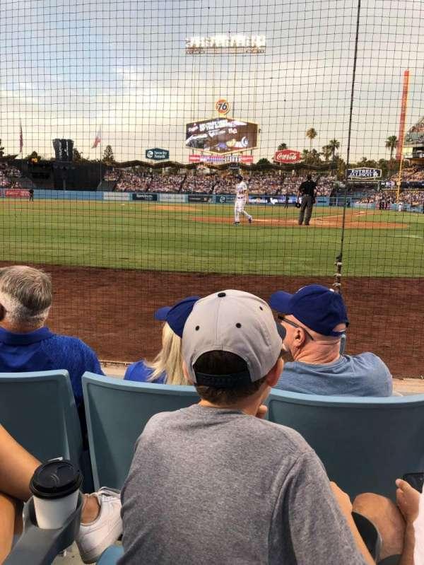 Dodger Stadium, Abschnitt: 5DG, Reihe: CC, Platz: 1