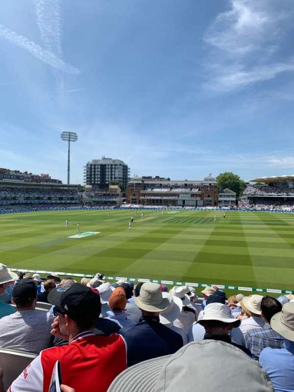 Lord's Cricket Ground, Abschnitt: Upper Compton Stand, Reihe: K, Platz: 123