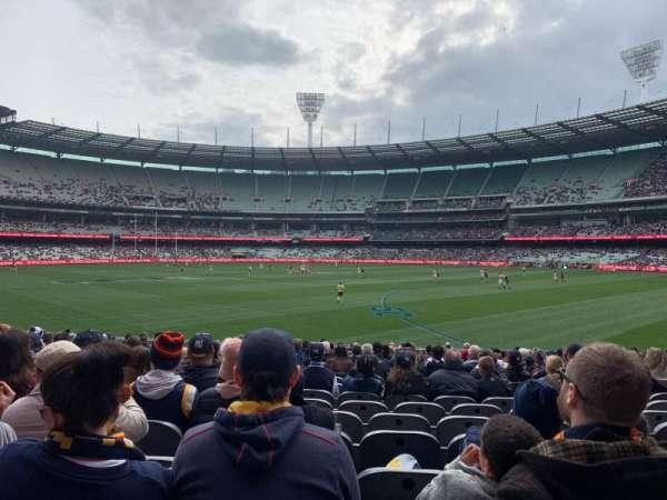 Melbourne Cricket Ground, Bereich: M11, Reihe: V, Platz: 11