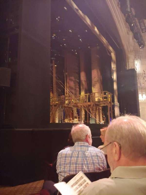 Orpheum Theatre (San Francisco), Abschnitt: OL, Reihe: F, Platz: 17