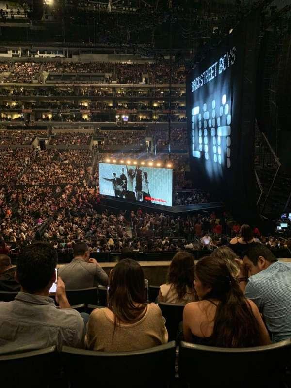 Staples Center, Abschnitt: PR4, Reihe: 5, Platz: 7