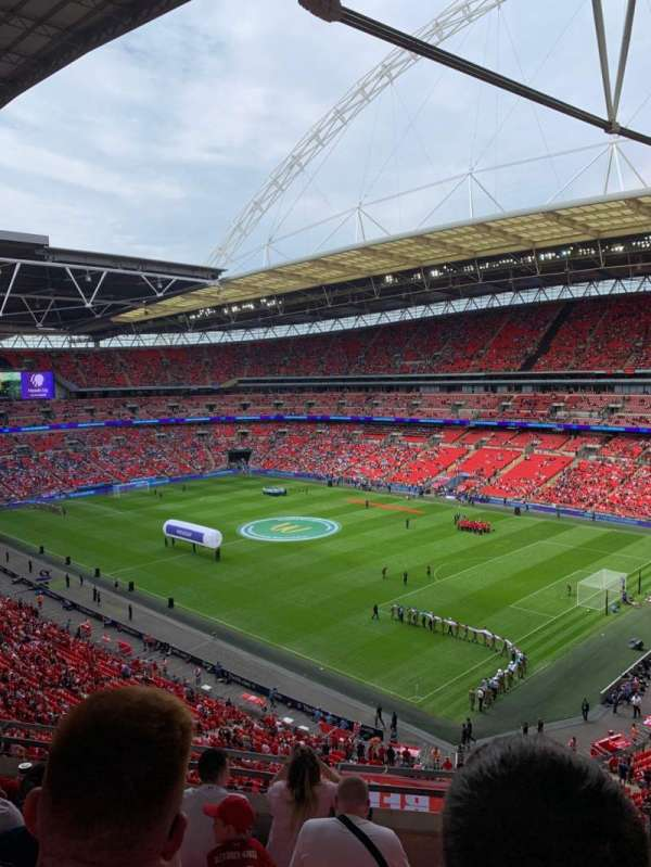 Wembley Stadium, Abschnitt: 520, Reihe: 6, Platz: 201