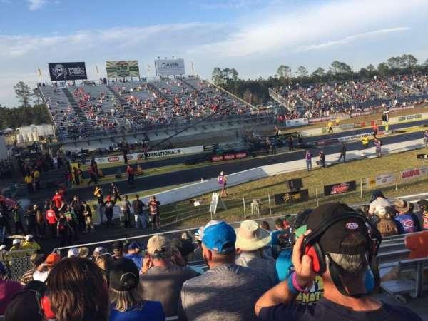 Gainesville Raceway, Abschnitt: Tec 1, Reihe: 15, Platz: 6