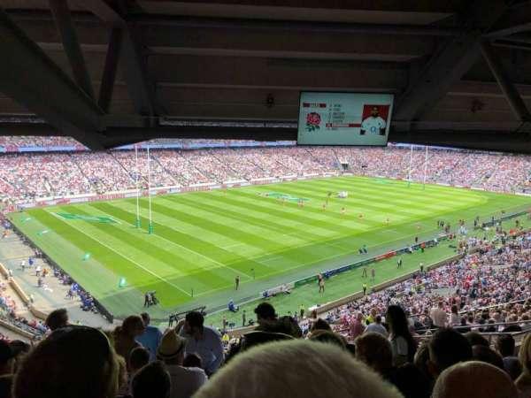 Twickenham Stadium, Abschnitt: M13, Reihe: 75, Platz: 364