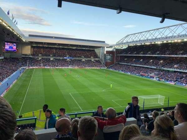 Ibrox Stadium, Abschnitt: BR5, Reihe: I, Platz: 147
