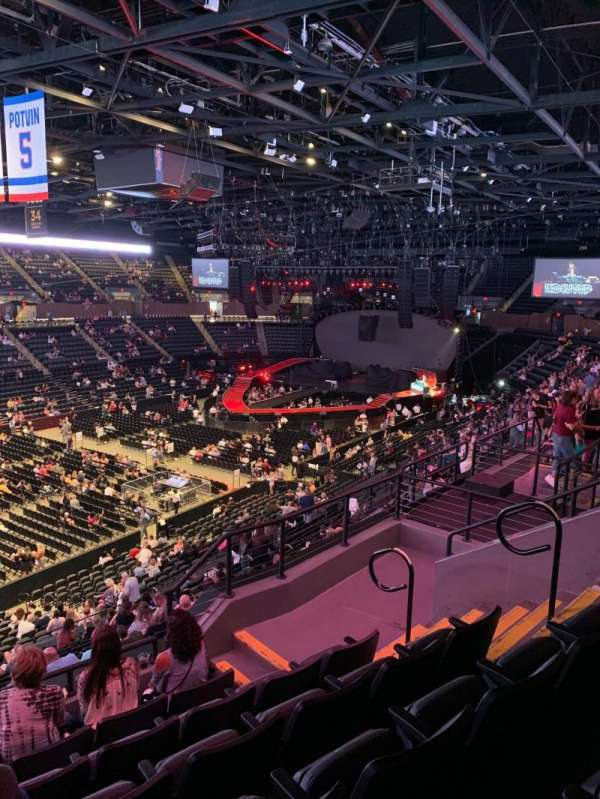 Nassau Veterans Memorial Coliseum, Bereich: 207, Reihe: 6, Platz: 7