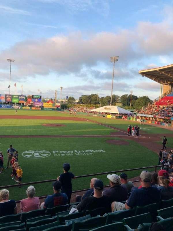 McCoy Stadium, Abschnitt: 10, Reihe: G, Platz: 17