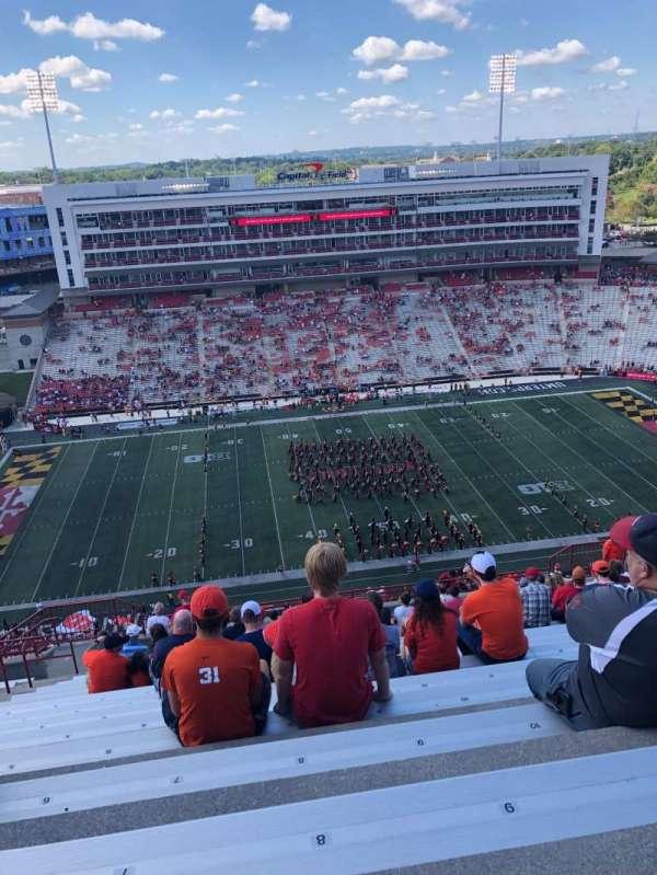 Maryland Stadium, Abschnitt: 305, Reihe: Y, Platz: 8