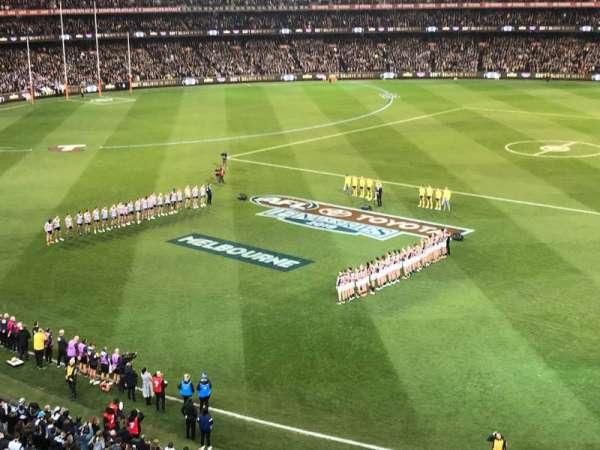 Melbourne Cricket Ground, Bereich: P43, Reihe: A, Platz: 18