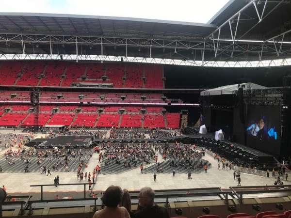 Wembley Stadium, Abschnitt: 251, Reihe: 6, Platz: 279