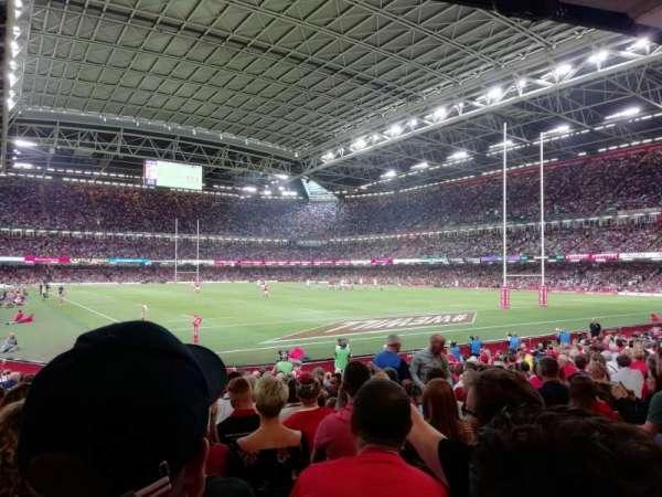 Principality Stadium, Abschnitt: L2, Reihe: 17
