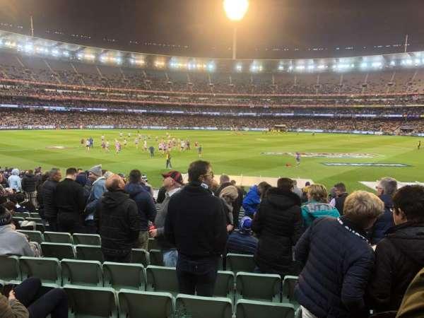 Melbourne Cricket Ground, Bereich: M23, Reihe: Y, Platz: 6