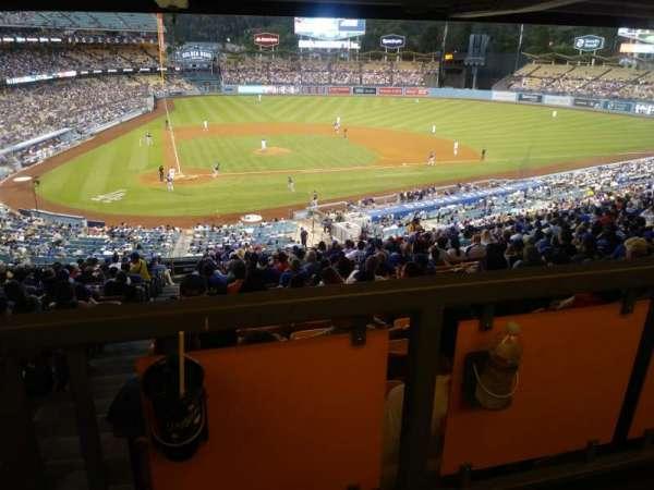 Dodger Stadium, Abschnitt: 120LG, Reihe: W, Platz: 1