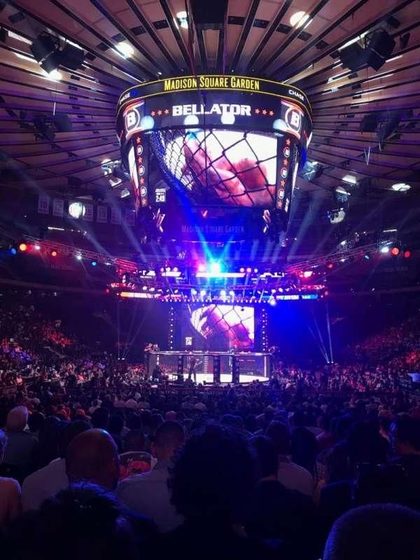 Madison Square Garden, Abschnitt: 2, Reihe: 18, Platz: 17