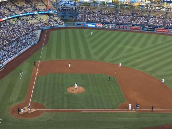 Dodger Stadium, Abschnitt: 10TD, Reihe: J, Platz: 18