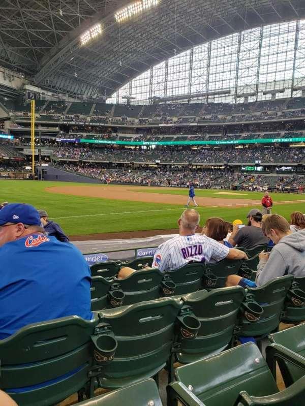 American Family Field, Bereich: 126, Reihe: 6, Platz: 15